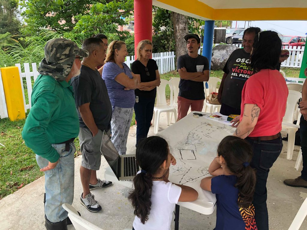We held our second workshop in Barrio Mariana