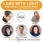 lead with light event poster