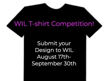 WIL Tshirt competition image