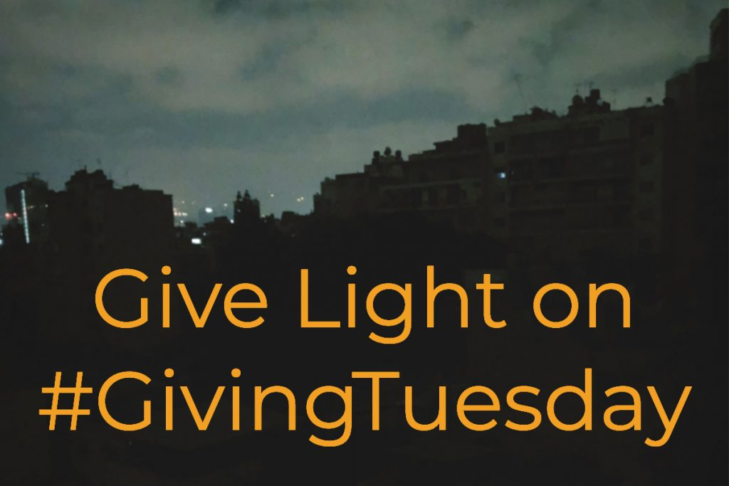 Give Light on Giving Tuesday